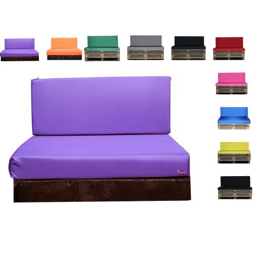 Kosipad Purple Pallet Cushions for Euro Pallets