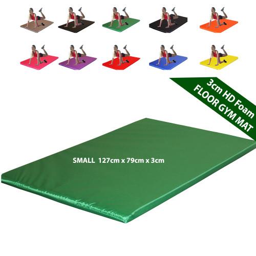 Kosipad 3cm Thick foam floor gym crash mats Green Small