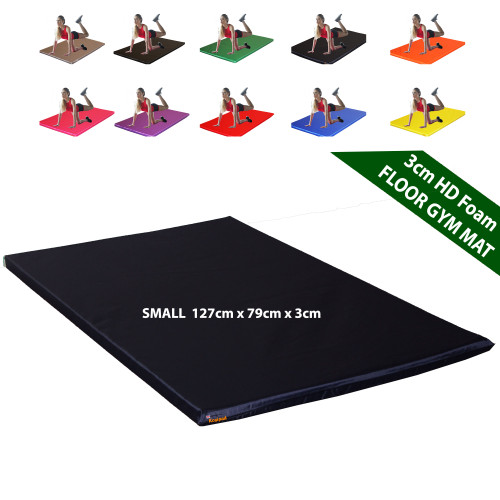 Kosipad 3cm Thick foam floor gym crash mats Grey Small