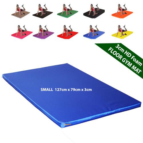 Kosipad 3cm Thick foam floor gym crash mats Orange Small