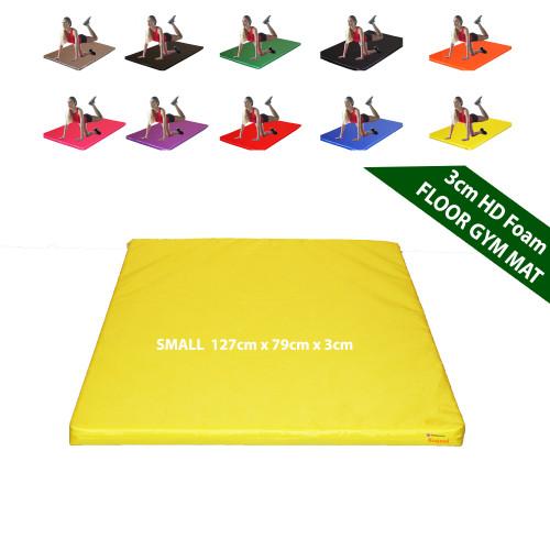 Kosipad 3cm Thick foam floor gym crash mats Yellow Small 1