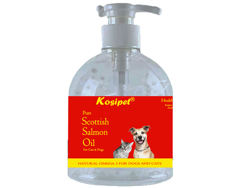 Kosipet Scottish Salmon Oil for Dogs and Cats 500ml