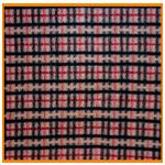 Polar Fleece Fabric Beige Check