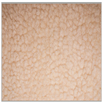 Polar Fleece Fabric Cream Sherpa