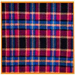 Polar Fleece Fabric Red Check