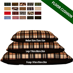 Replacment Floor Cushion Covers