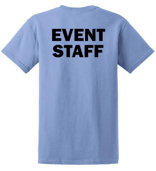 Event Staff Tee in Carolina