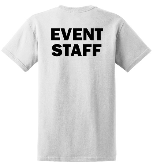 Inexpensive Event Staff Tee