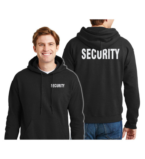 Security Sweatshirt Pullover Hoodie