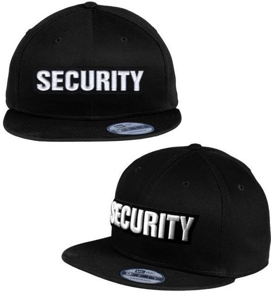 SECURITY 3D New Era® - Flat Bill Snapback Cap