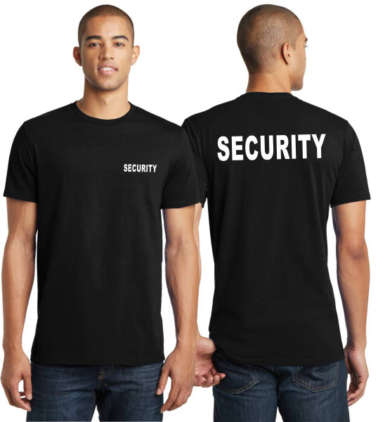 Security T-Shirt - Lighter and Form Fitting Young Man