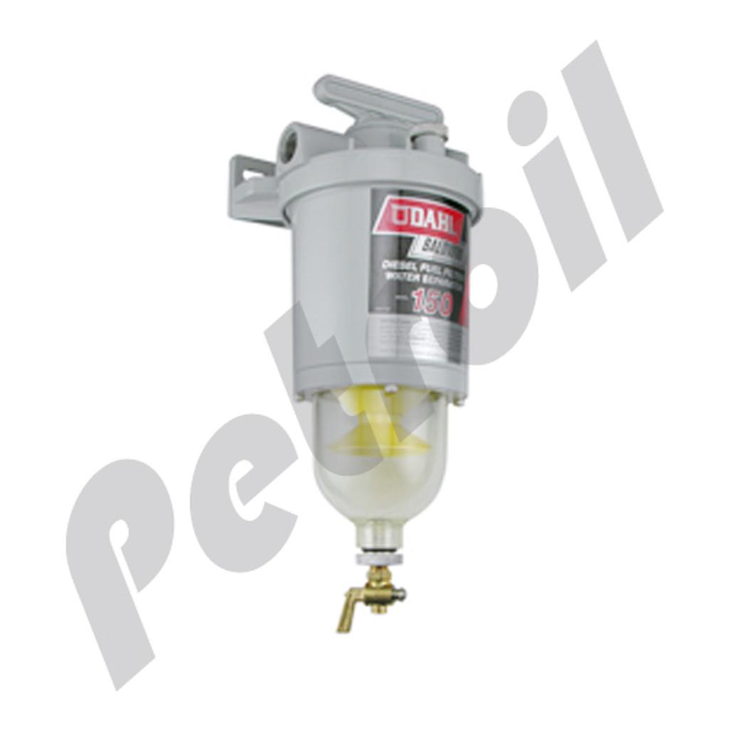 150 baldwin fuel filter turbine type dahl 150 con housing mounting150 baldwin dahl fuel(diesel) housing case