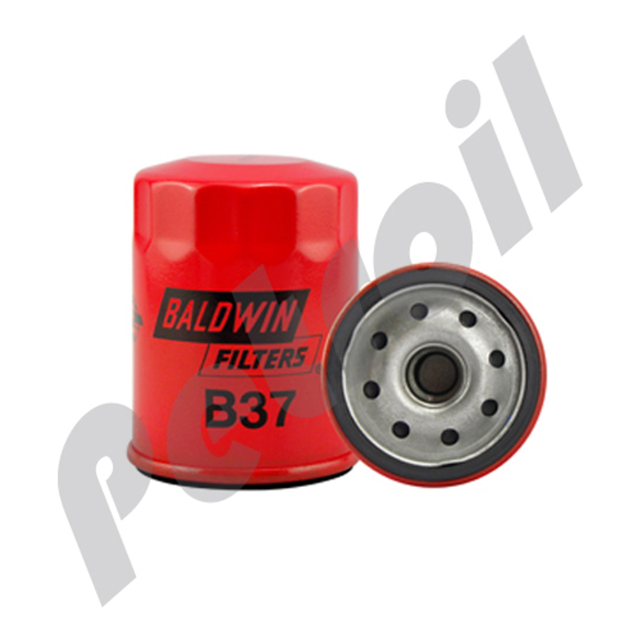 (Case of 12) B37 Baldwin AUTOMOTIVE LUBE SPIN-ON