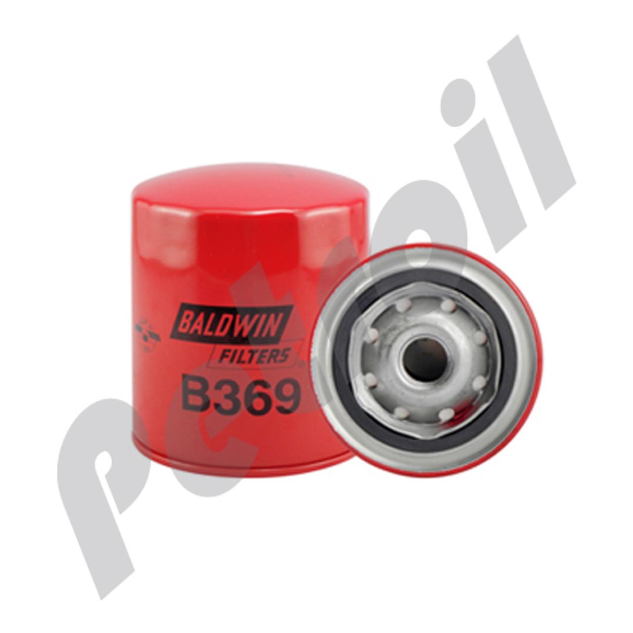 (Case of 12) B369 Baldwin HEAVY DUTY AIR SPIN-ON