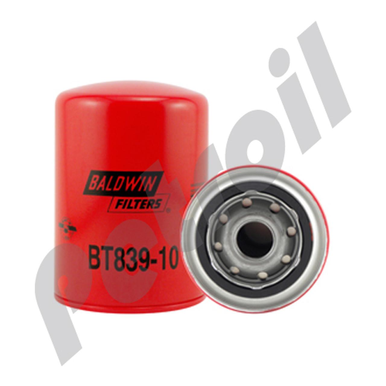 (Case of 12) BT839-10 Baldwin HEAVY DUTY HYDRAULIC SPIN-ON