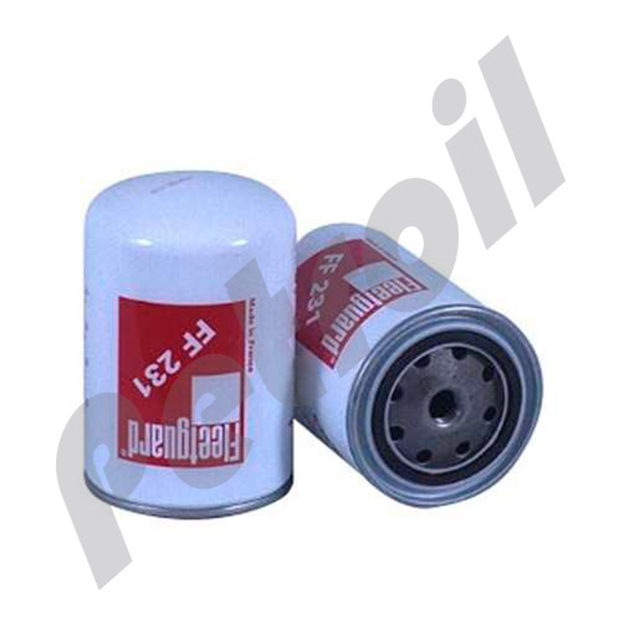 [DIAGRAM_5FD]  FF231 Fleetguard Fuel Filter Spin-on Deutz | Deutz Fuel Filters |  | Petroil USA