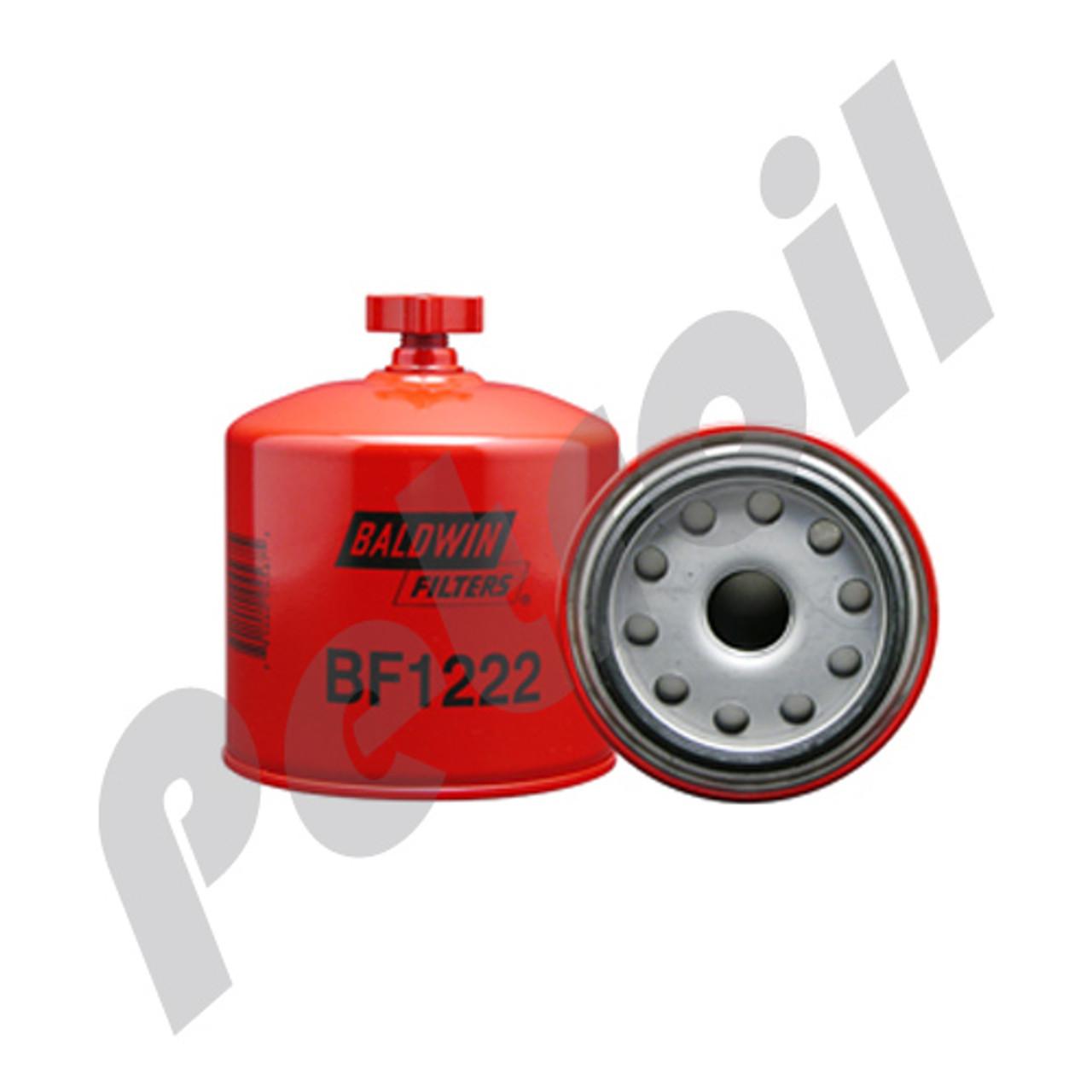 bf1222 baldwin fuel filter water separator ford f450 super duty navistar  7 3l e/f fd829 30mic