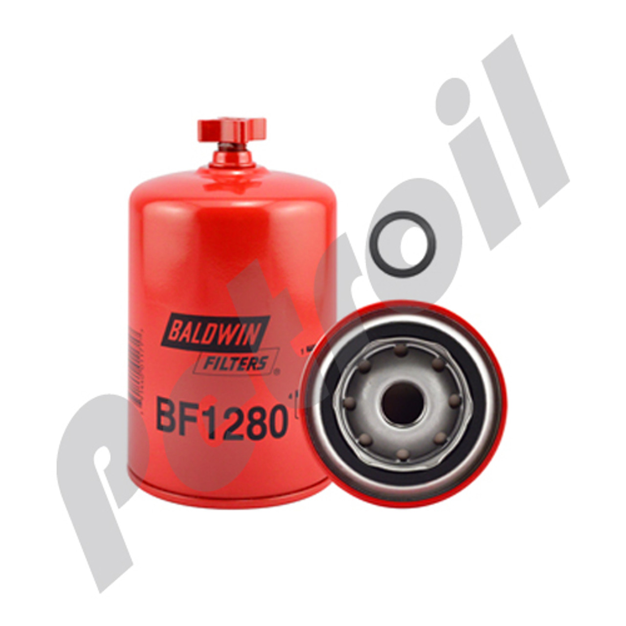 bf1280 baldwin fuel filter spin on freightliner/cummins 3925274 psc410  fs1280 33357 wk940/7 p551329
