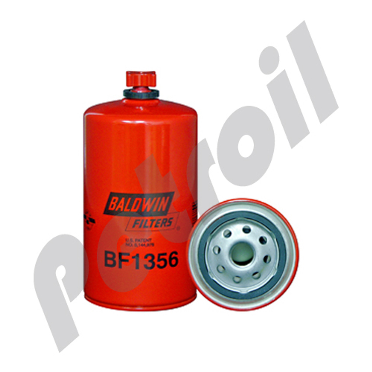 [DIAGRAM_34OR]  BF1356 Baldwin Fuel Filter w/Drain Cummins 3991350 FS19608 33722 P550899 JLG  7028838 | Jlg Fuel Filter |  | Petroil USA