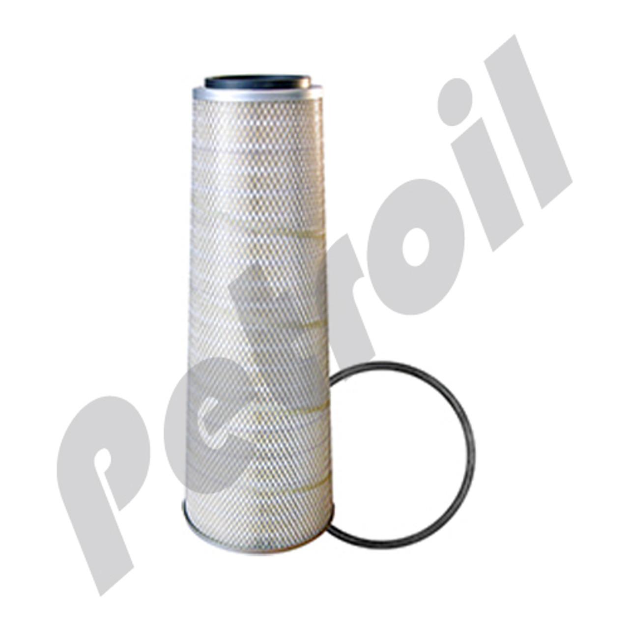 8-1//4 x 17-1//8 in. Baldwin Filters PA2957 Heavy Duty Air Filter