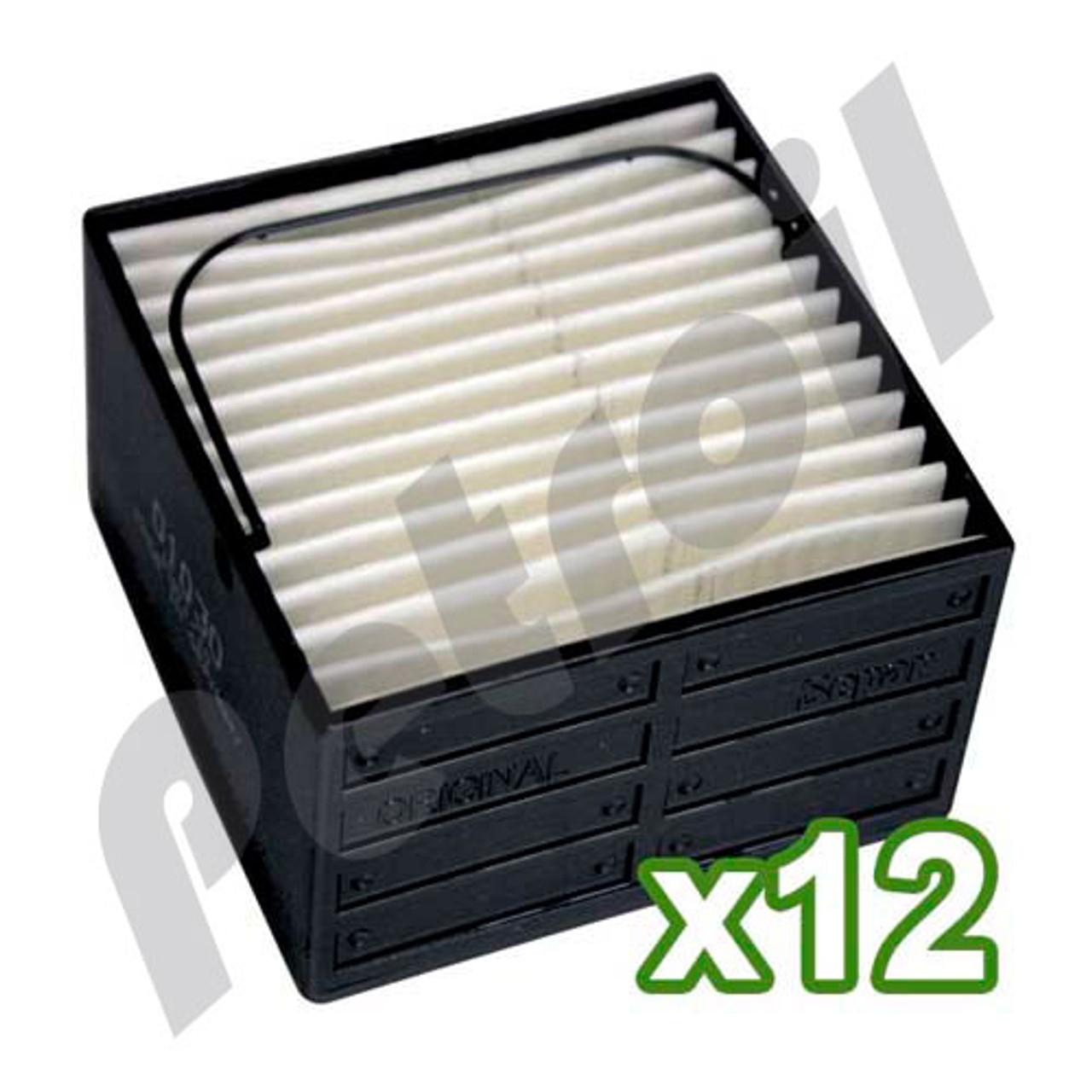 (Case of 12) Separ 01010-12 - 10 Micron Element for 2000/10