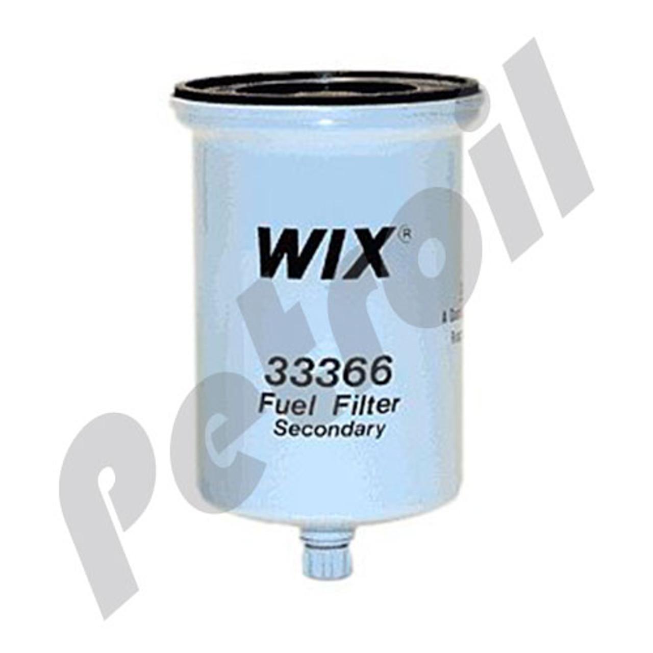 Fuel Filter 33370 Wix