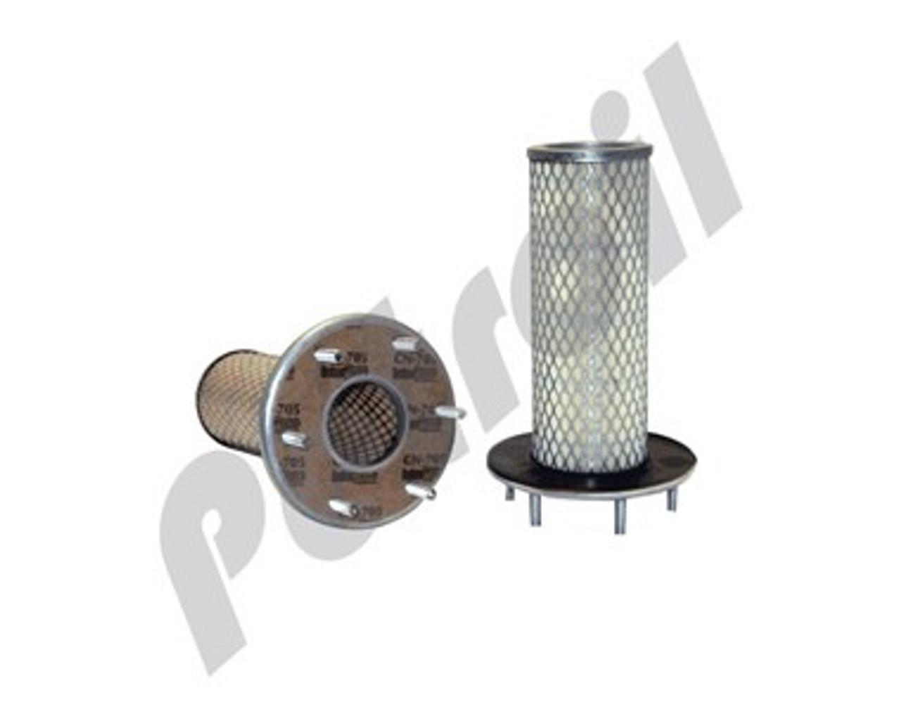 6-1//4 x 13-3//32 in. Baldwin Filters PA1675 Heavy Duty Air Filter