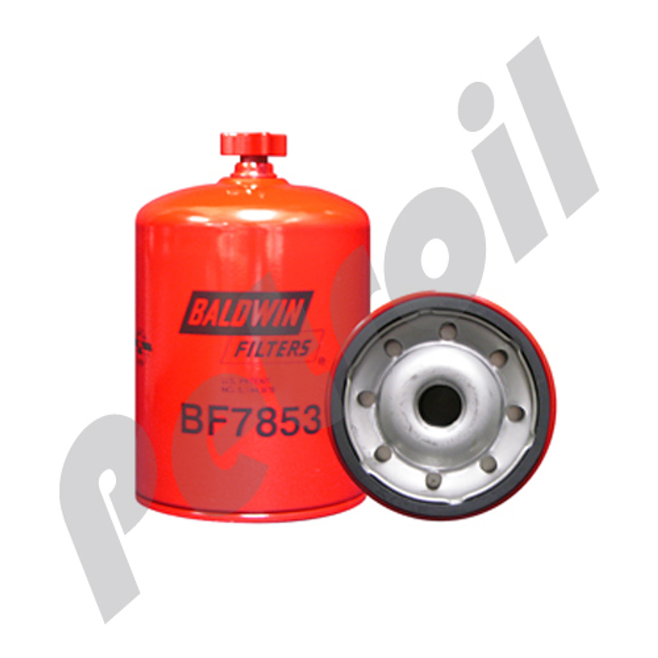 (case of 12) bf7853 baldwin hd fuel spin-on (diesel)