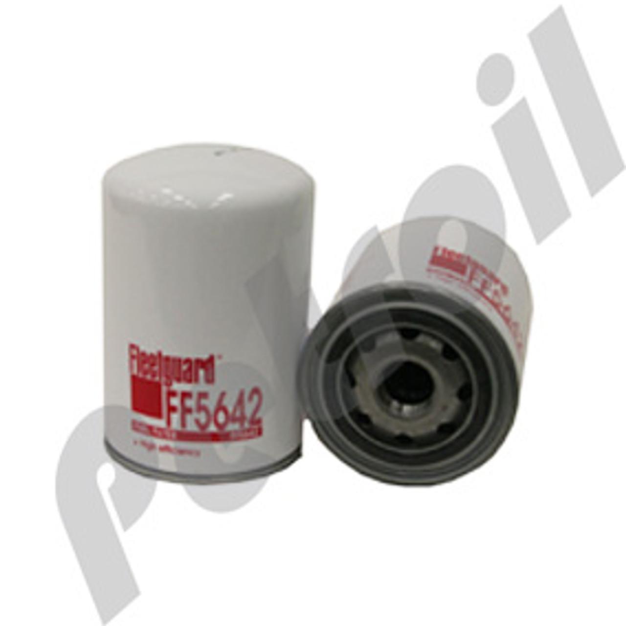 (Case of 12) FF5642 Fleetguard Fuel Filter Spin-on