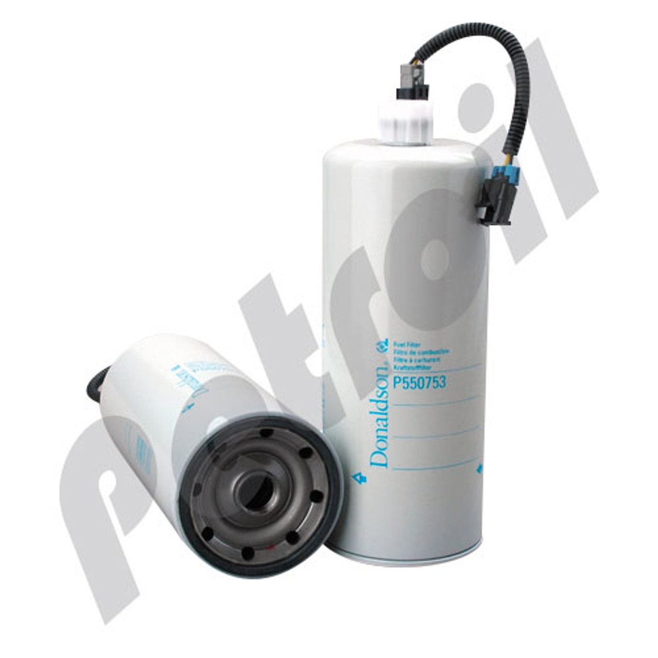 Case Of 6 P550753 Donaldson Fuel Filter Water Separator Spin On