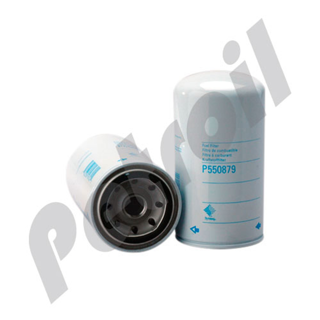 Case Of 12 P550879 Donaldson Fuel Filter Spin On Cummins 4940647