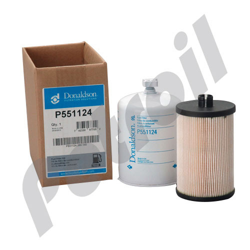 P551124 Donaldson FUEL FILTER KIT
