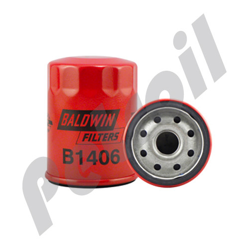 B1406 Baldwin Oil Filter Spin On Nissan 1520853J00 LF3615 P502070  W610/4