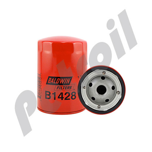 B1428 Baldwin Oil Filter Spin On w/Anti-DrainBack Valve GMC 25160561 51060 ML13 P550964 LF3679 PH5 PH1218 ML1011