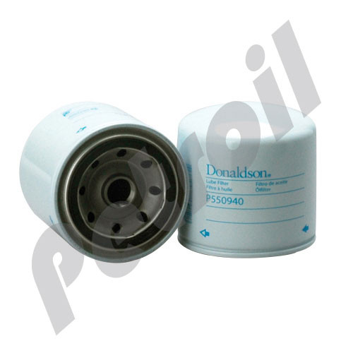 (Case of 12) P550940 Donaldson TRANSMISSION FILTER, SPIN-ON