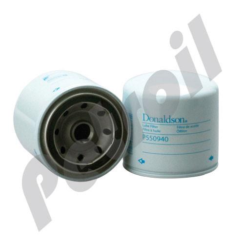 P550940 Donaldson TRANSMISSION FILTER, SPIN-ON