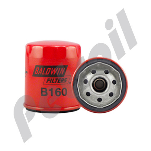 (Case of 12) B160 Baldwin AUTO LUBE SPIN-ON