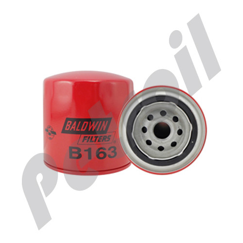 (Case of 12) B163 Baldwin HEAVY DUTY LUBE SPIN-ON