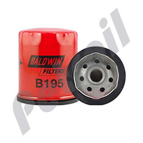 B195 Baldwin Oil Filter Spin On Peugeot 11093559 51340 GM 25011395 Volvo 8293904 P502075 PH2846B LF783 W712/15