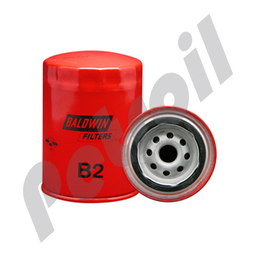 (Case of 12) B2 Baldwin AUTOMOTIVE LUBE SPIN-ON