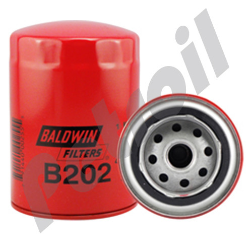(Case of 12) B202 Baldwin AUTOMOTIVE LUBE SPIN-ON