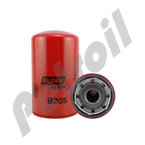 B205 Baldwin Oil Filter Spin On Isuzu FVR 33K Cummins 6CT (Encava 3300) 3313281 8943910492 LF734 51649 P551381