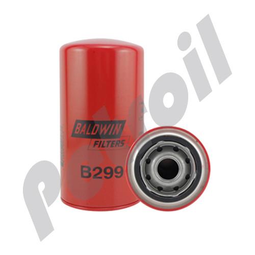 B299 Baldwin Oil Filter Spin On High performance International 1808896C1 LF3919 LFP6241 51789 P555616