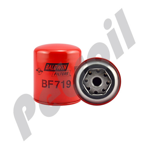 BF719 Baldwin Fuel Filter Spin On Isuzu 33398 FVR 33G FSR Encava ENT610 FF4136 P552564 F3398