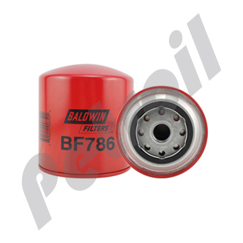 BF786 Baldwin Fuel Filter Spin On Engines International 1804459C1 P550811 33811 FF5035