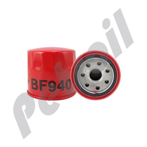 (Case of 12) BF940 Baldwin HEAVY DUTY FUEL(DIESEL) SPINON