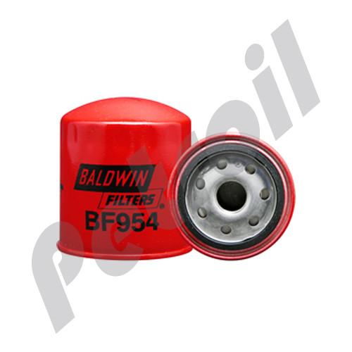 (Case of 12) BF954 Baldwin HEAVY DUTY FUEL(DIESEL) SPINON