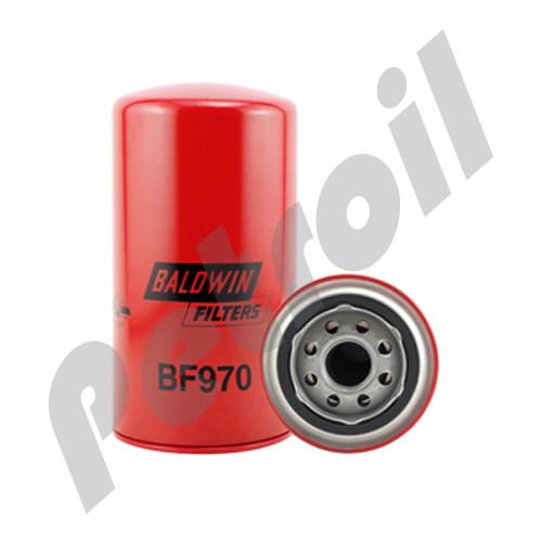 (Case of 12) BF970 Baldwin HEAVY DUTY FUEL(DIESEL) SPINON