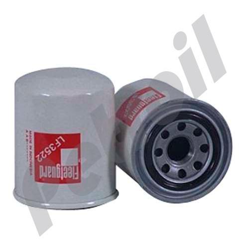 (Case of 12) LF3522 Fleetguard Oil Filter Spin On ISUZU 8941145840