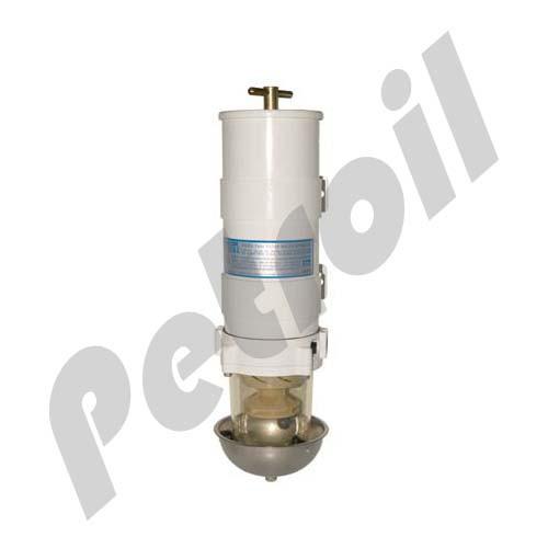 (Case of 4) 1002MA2 Racor Water Separator Turbine Type